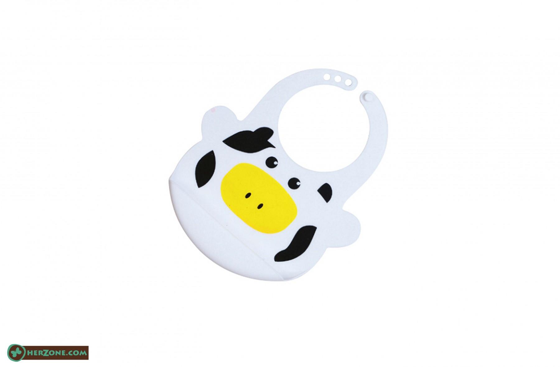 183.Cow Baby bib