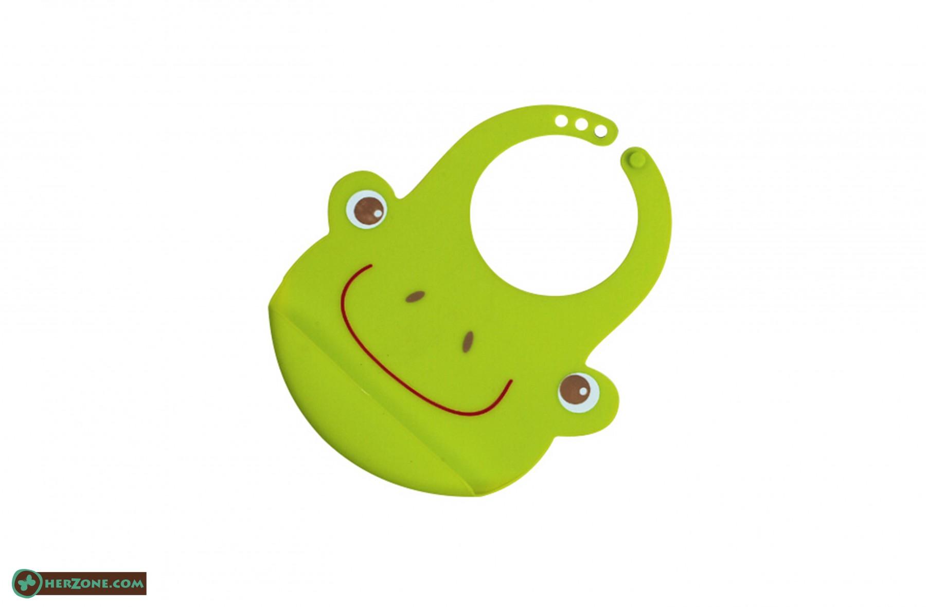 182.Frog Baby bib