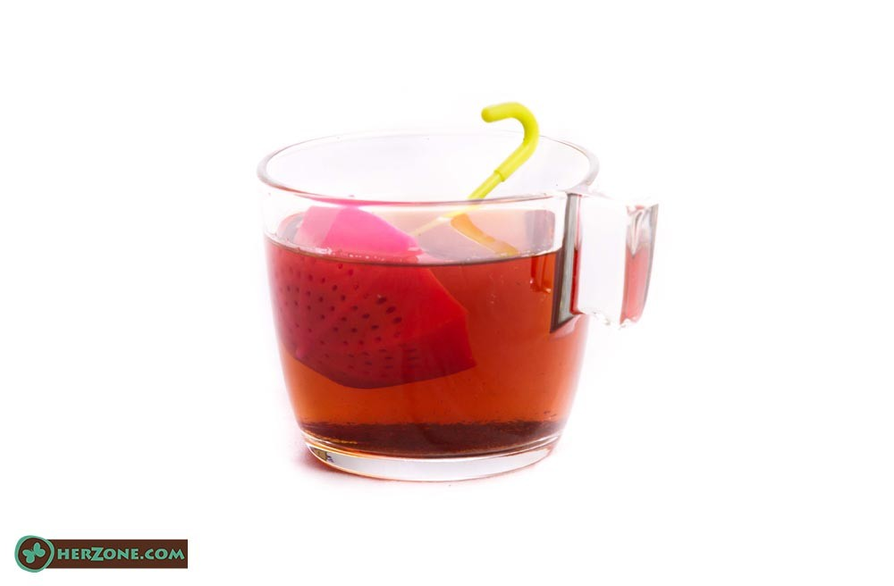 81.Umbrella tea infuser